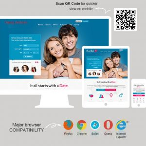 Dating Website 2 | Category Template | HW Infotech