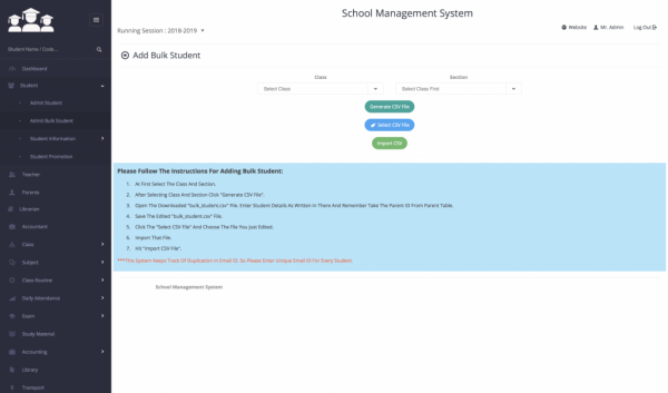 Online School Management Software | Online School Manager System Scripts
