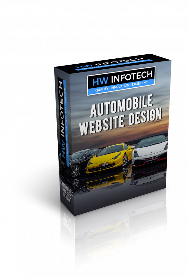 Automobile Web Design Services | Automobile Website Designing Company