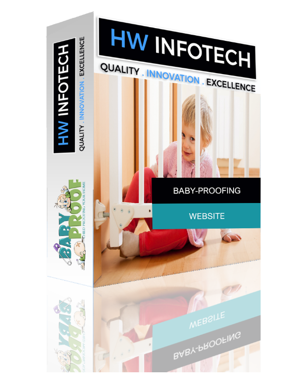 Baby-Proofing Website Clone | Baby-Proofing Website Script | Hw Infotech