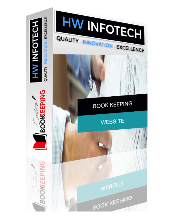 Book keeping Website Clone | Book keeping Website Script | Hw Infotech