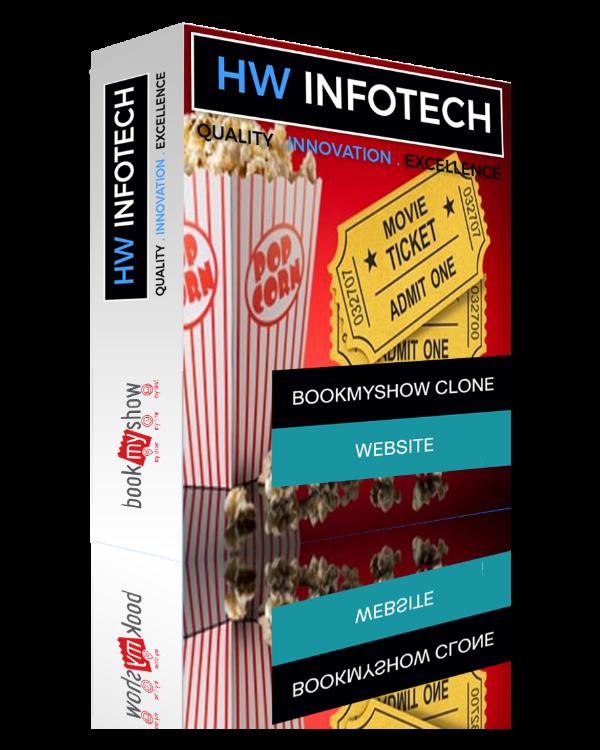 Bookmyshow Clone | bookmyshow clone app | Hw Infotech