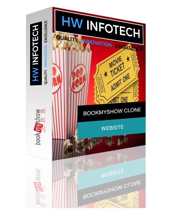 Bookmyshow Clone Script | Bookmyshow PHP script Website | App Like Bookmyshow