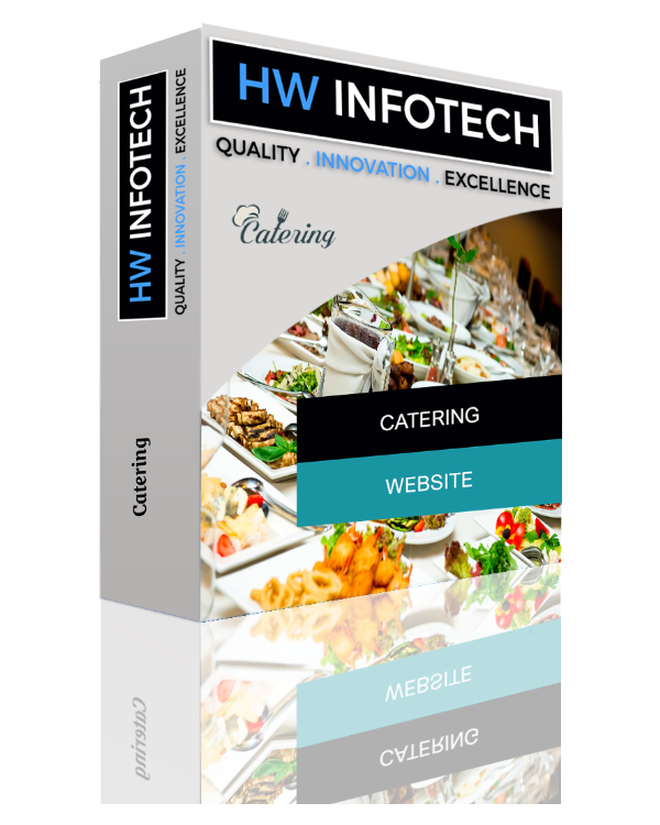 Catering Website Clone | Catering Website Script | Hw Infotech