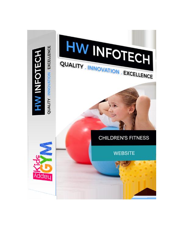 Children's Fitness Clone Script | Children's Fitness PHP script Website App