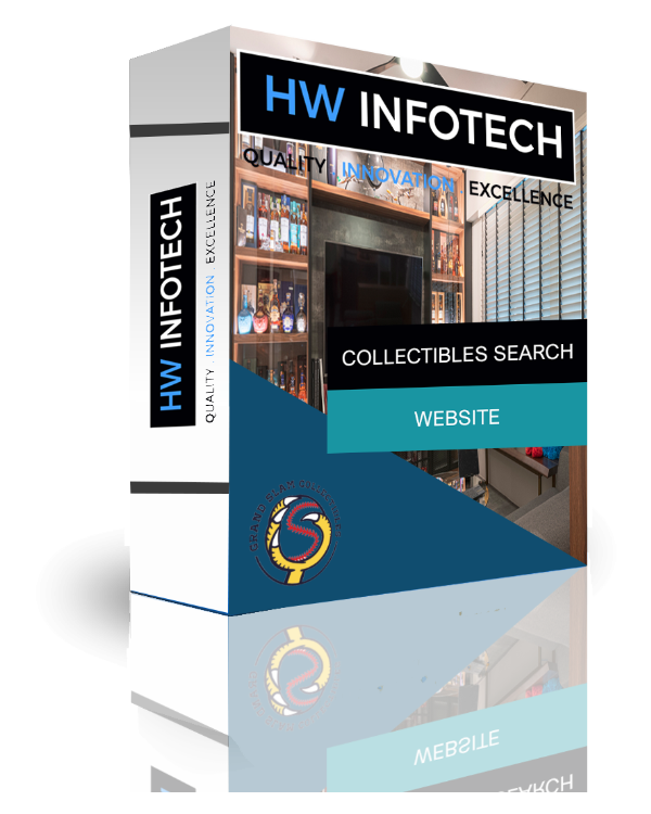 Collectibles Search Website Clone | Collectibles Search Website Script | Hw Infotech