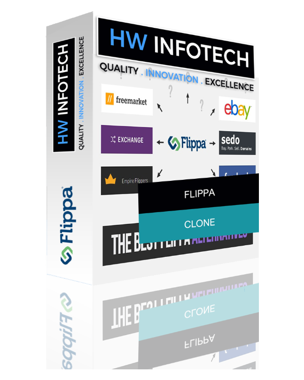 Flippa Website Clone Script & Clone App | Flippa Website PHP script Website