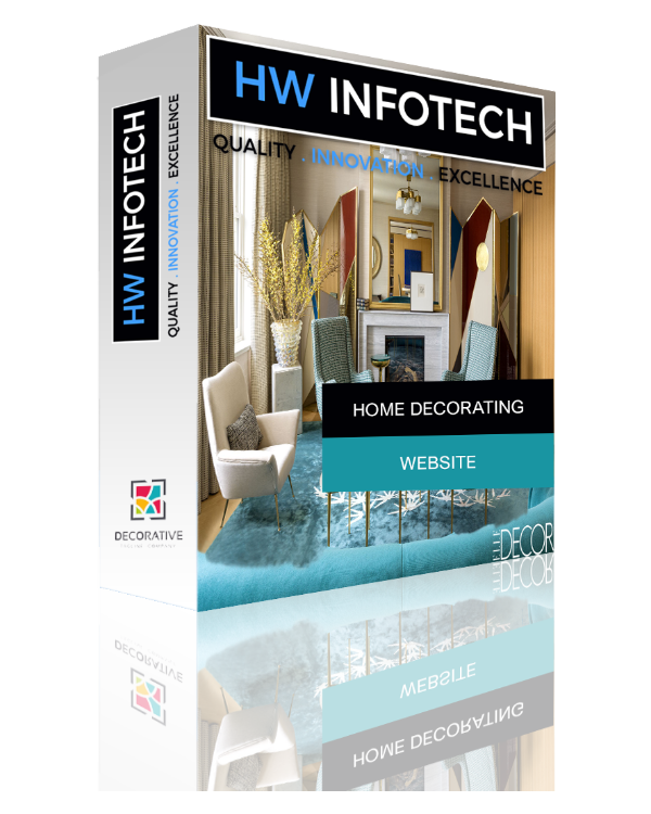 Home Decorating Website Clone | Home Decorating Website Script | Hw Infotech