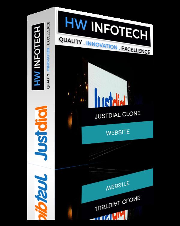 Justdial Website Clone | Justdial Clone Script | Hw Infotech