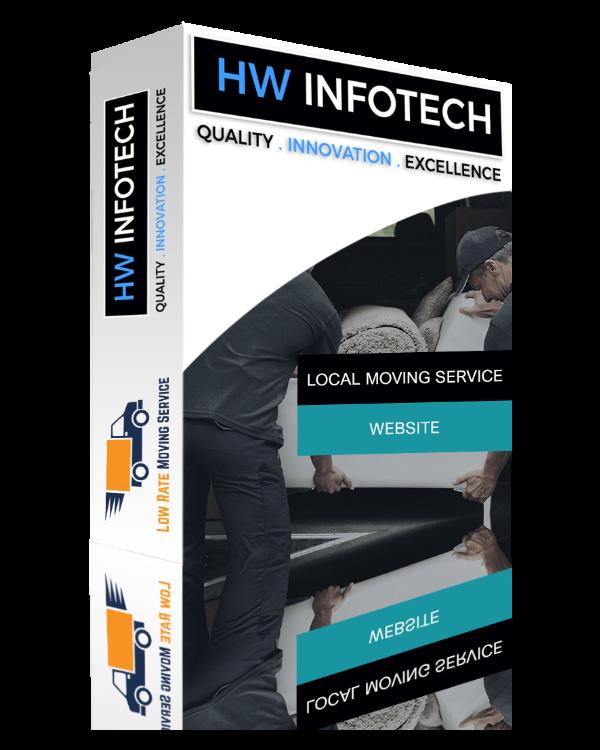 Local Moving Service Website Clone | Local Moving Service Website Script | Hw Infotech