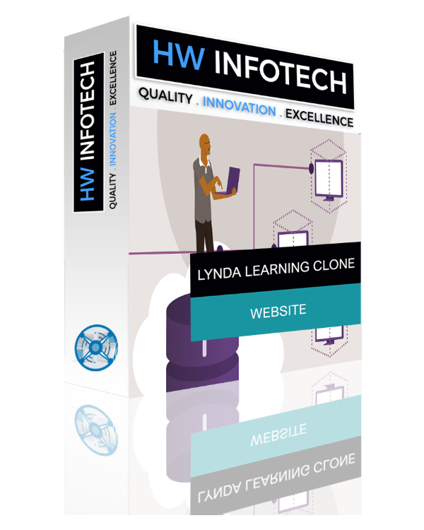 Lynda Learning Website Clone | Lynda Learning Website Script | Hw Infotech