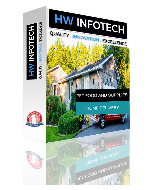 Pet-Food and Supplies Home Delivery Website Clone | Pet-Food and Supplies Home Delivery Website Script | Hw Infotech