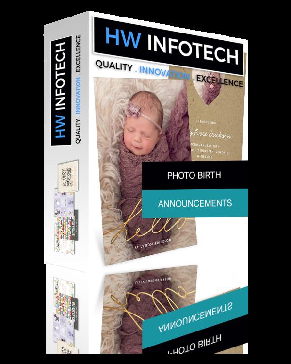 Photo Birth Announcements Website Clone | Limousine Service Website Script | Hw Infotech