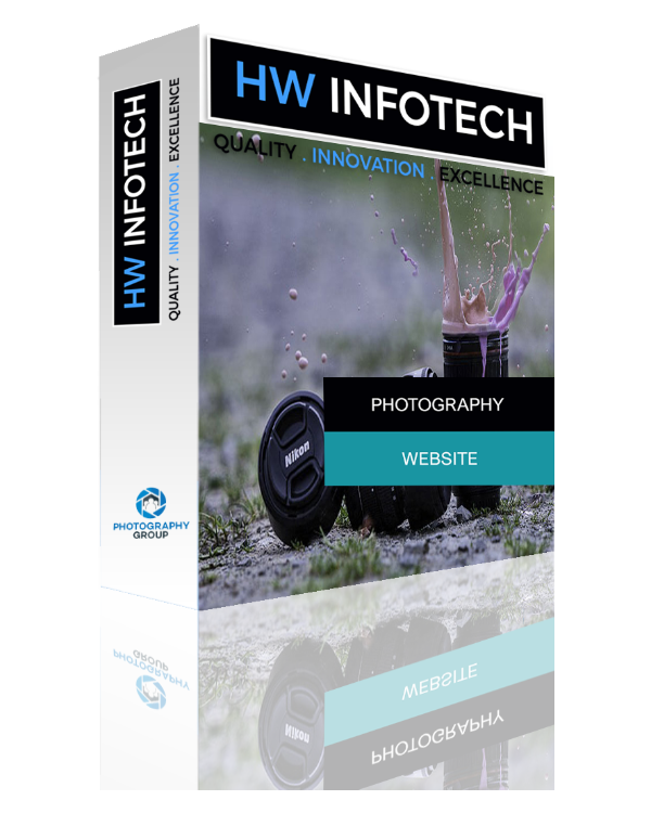 Photography Website Clone | Photography Website Script | Hw Infotech