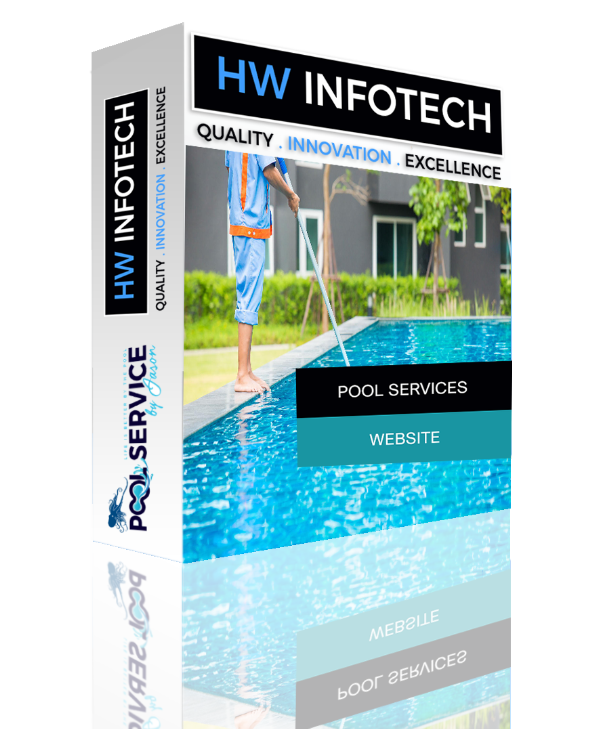 Pool Services Website Clone | Pool Services Website Script | Hw Infotech