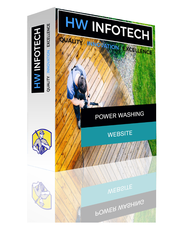 Power Washing Website Clone | Power Washing Website Script | Hw Infotech