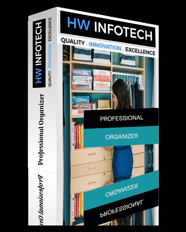 Professional Organizer Website Clone | Professional Organizer Website Script | Hw Infotech