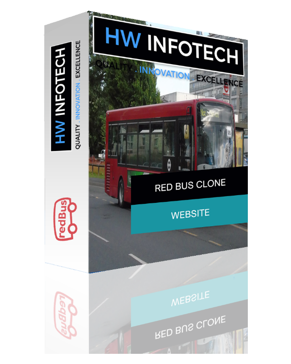 Red Bus Website Clone | Red Bus Clone Script | Hw Infotech