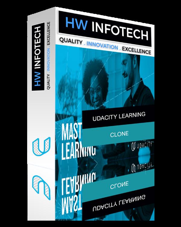 Udacity Learning Website Clone | Udacity Learning Clone Script | Hw Infotech
