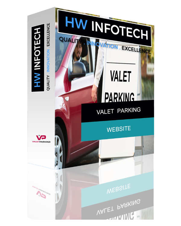 Valet Parking Website Clone | Valet Parking Website Script | Hw Infotech