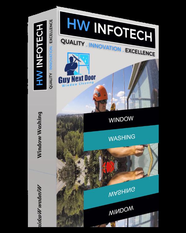 Window Washing Website Clone | Window Washing Website Script | Hw Infotech