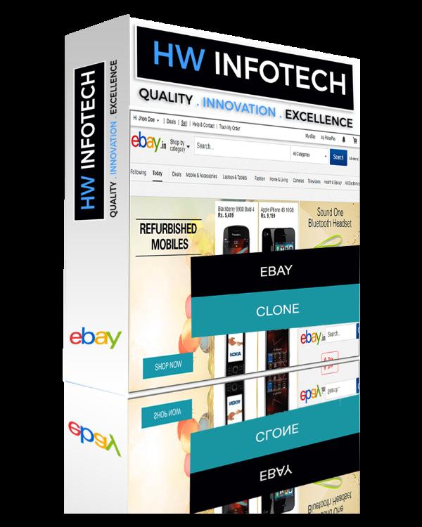 eBay Website Clone | eBay Clone Script | Hw Infotech