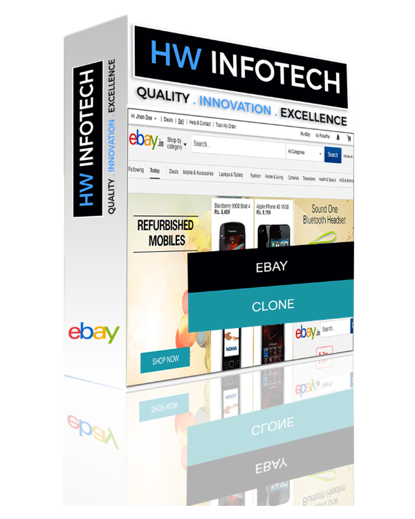 eBay Clone Script | eBay Clone App | eBay PHP script | App Like eBay